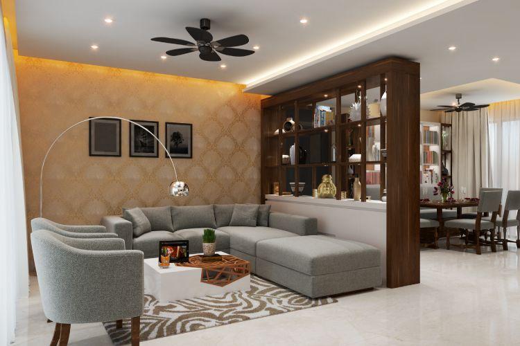 An All-white Contemporary Suburban Mumbai Condo | Living ...