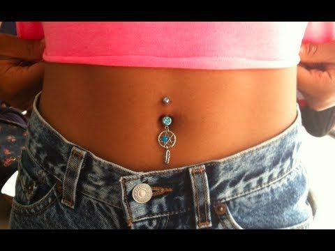 Belly On Piercing Fake
