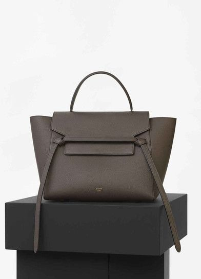 96cecc73b8 Mini Belt Bag in Dark Taupe Baby Grained Calfskin - Céline (why didn t I  get this when it was in stock ! This color is gone!)