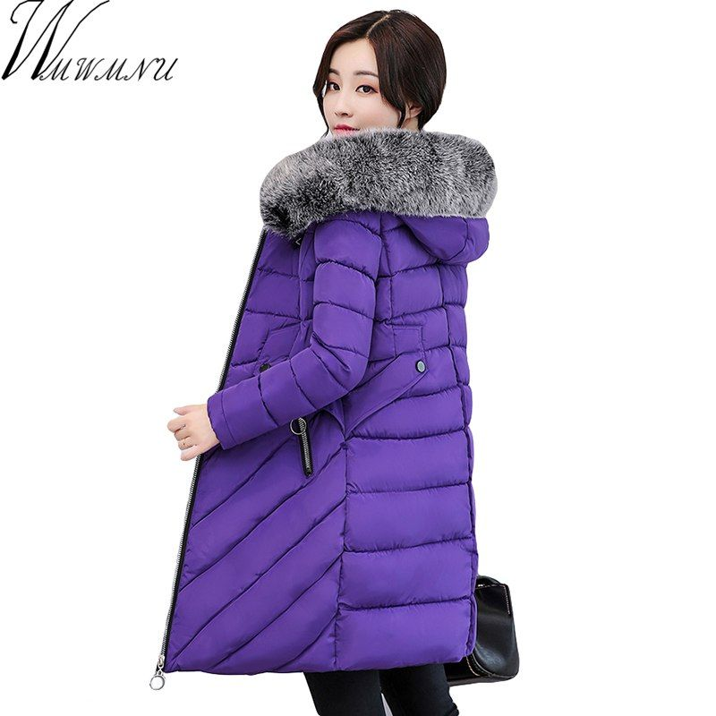 5d3db8551738 New Winter Coat Women's Thick Warm Winter slim Jacket Fur Collar Hooded  Parka Coat Plus Size 3XL Price: 66.06 & FREE Shipping #hashtag1