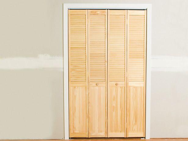 Install Bifold Closet Doors Closet Doors Doors And Bi Fold Doors