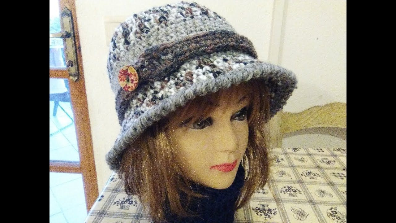 THE PERFECT CLOCHE HAT crochet tutorial any size | gorros bojnas ...