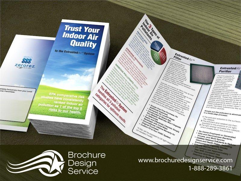 Brochures designs Filtration Manufacturing Tri-fold brochure, LTR - tri fold brochure