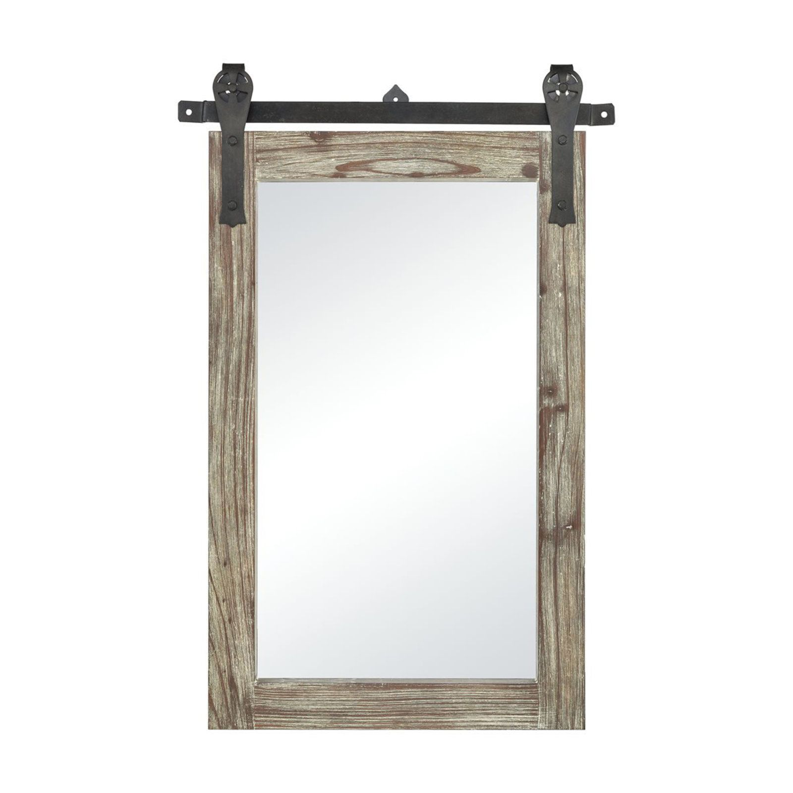 Barn Door Framed Mirror Mirror Barn Door Interior Barn Doors Door Frame