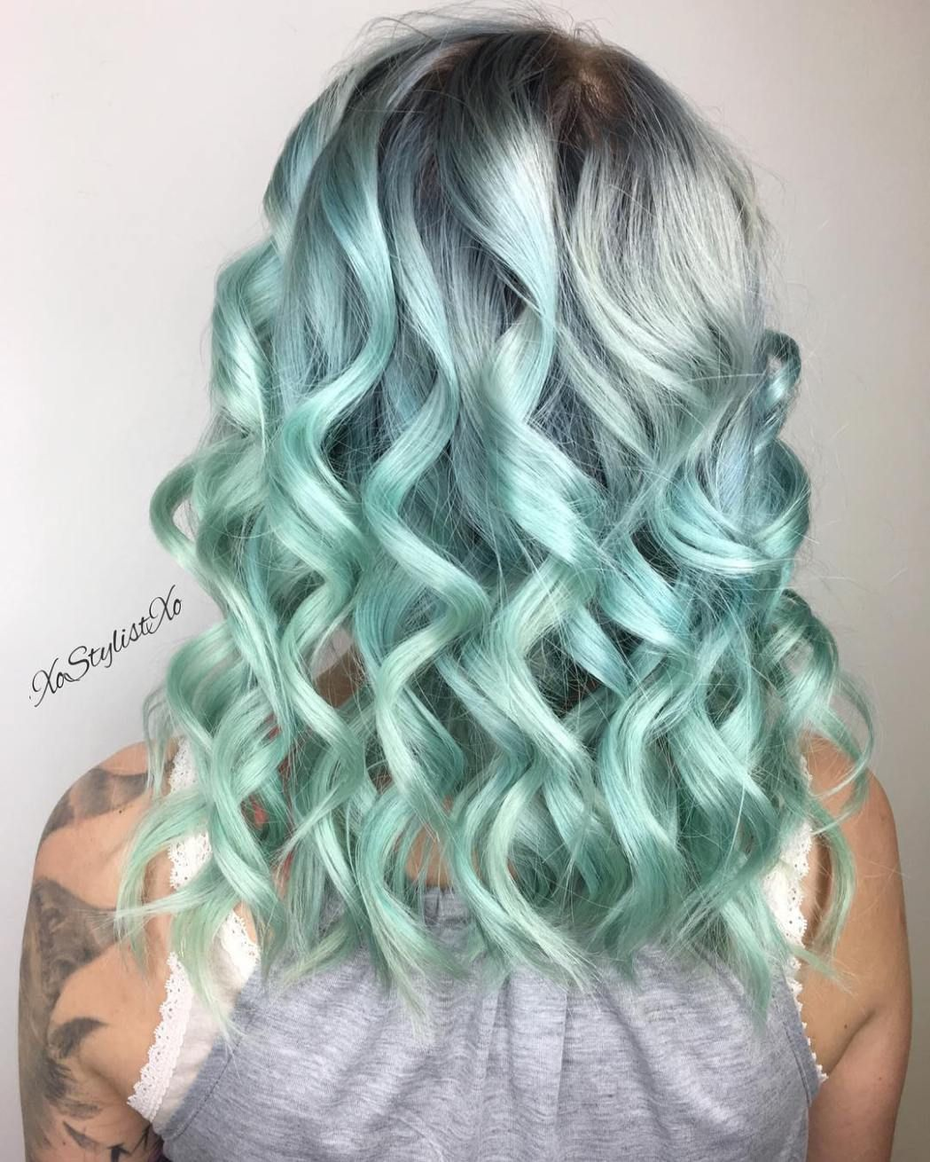 ways to rock green hair hair and hairstyles pinterest ombre
