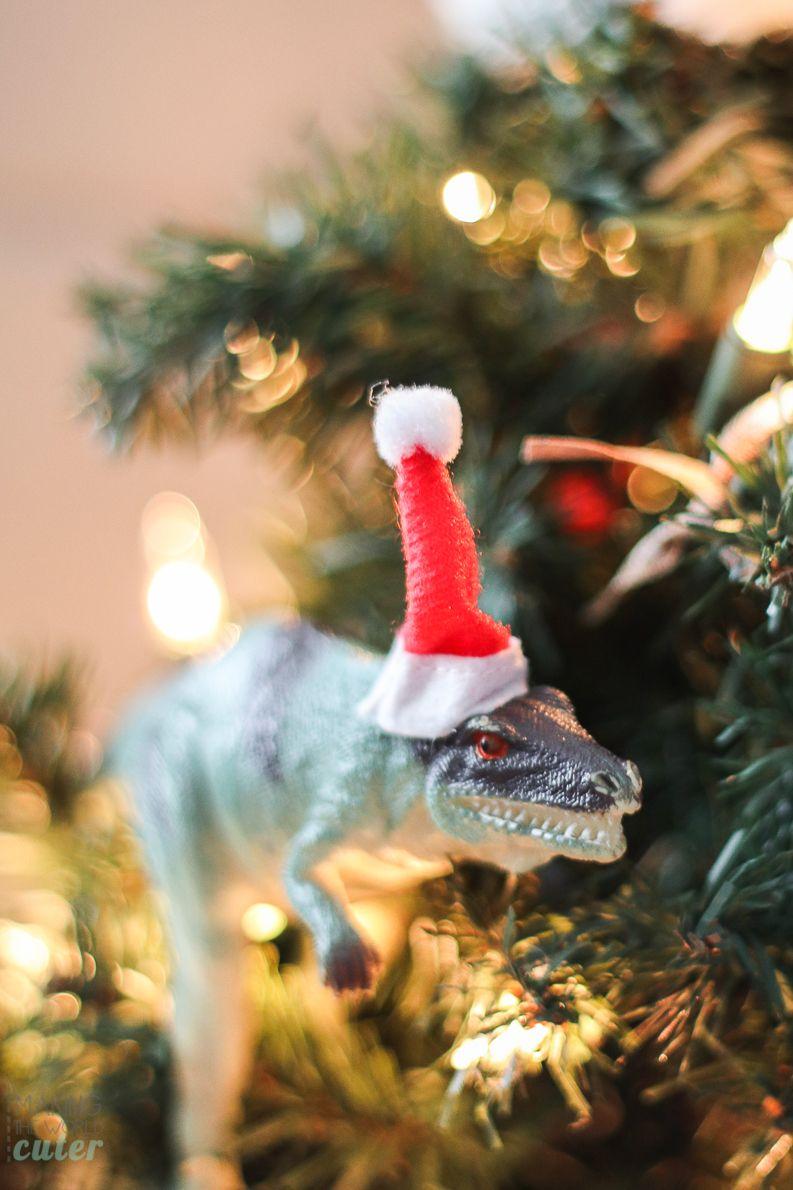 How To Make Funny Dinosaur Christmas Ornaments Dinosaur Christmas Ornament Funny Christmas Ornaments Dinosaur Christmas Tree