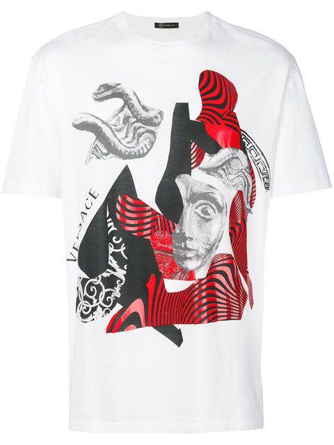 88eb37c1 VERSACE . #versace #cloth #t-shirt   Versace Men   Versace, Versace ...