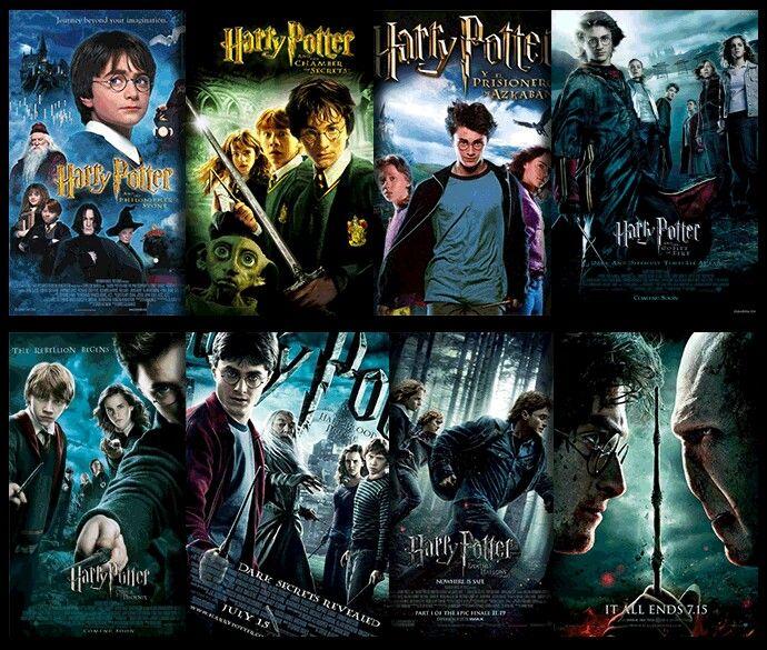 Saga Hp Harry Potter Movies Harry Potter Harry Potter Book