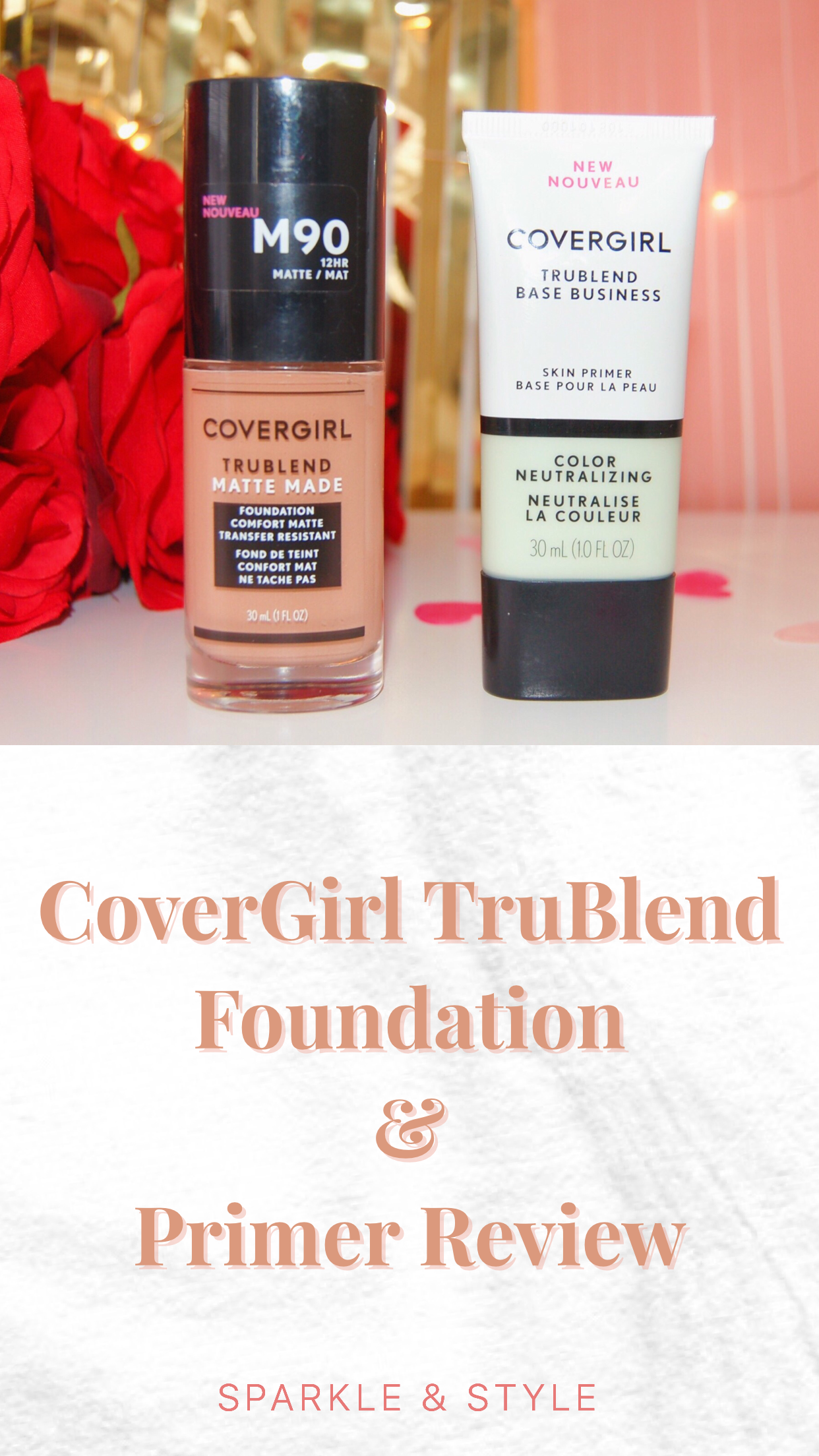 CoverGirl TruBlend Foundation & Primer Review Covergirl