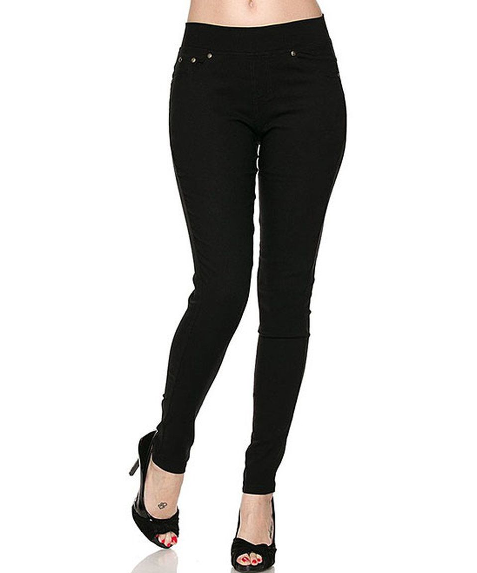 Take a look at this Black Skinny Pants - Plus today!