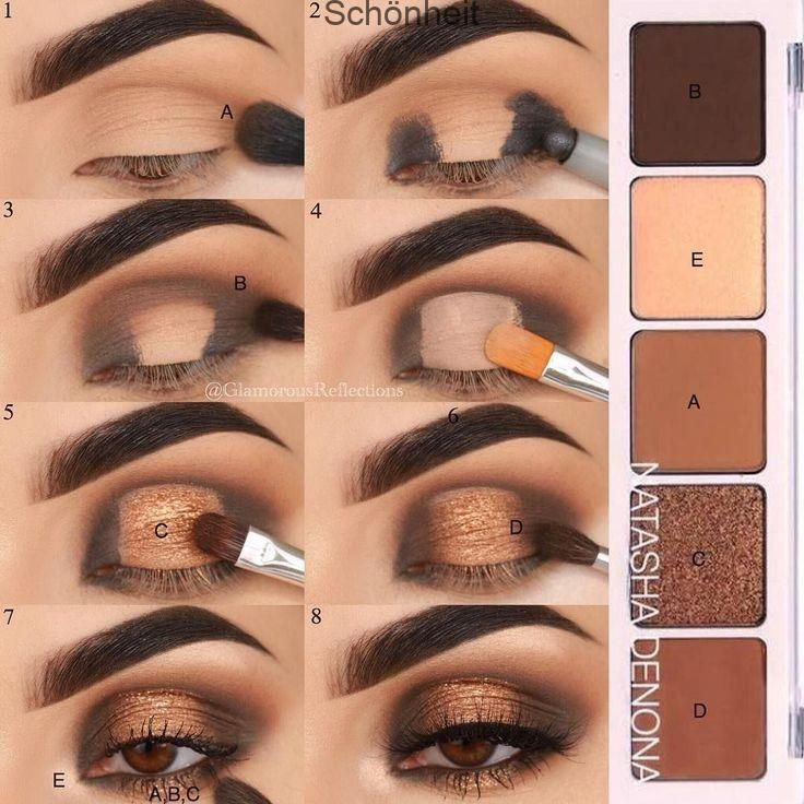Photo of Eyeshadow #stepbystep picturesque from my latest look ✨. BROW # EyeMakeu… – Makeup | Dessertpin.com