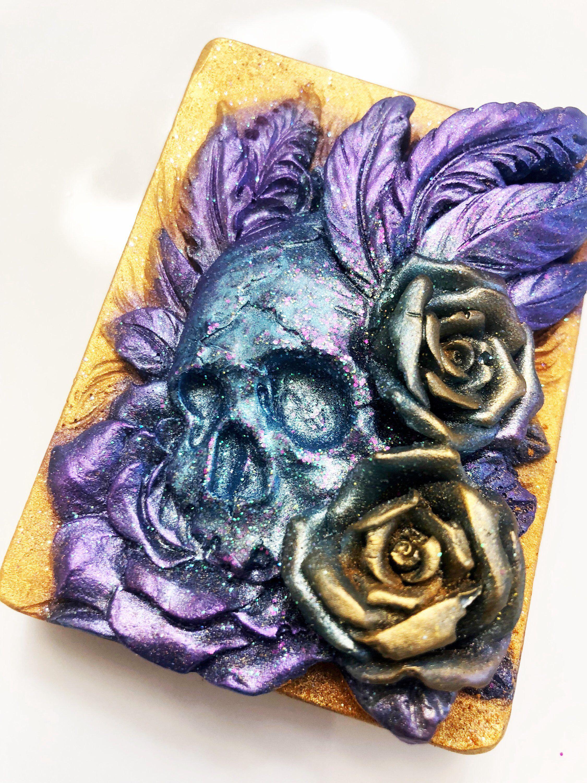 Skull Soap, Day of the Dead, Dia de los muerto, día de los