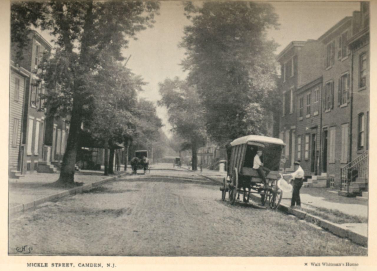 Walt Whitman's house on Mickle Street, Camden, New... - Historical Times