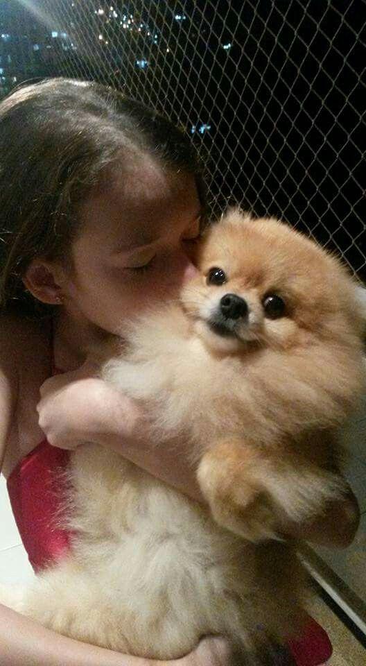 Eu e o pequenino Lulu
