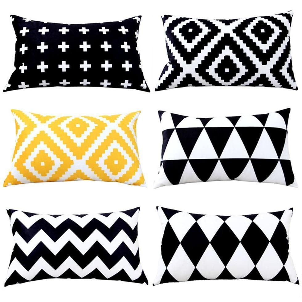 Rectangle Decorative Pillow Case Nordic Style Throw Pillow Cover