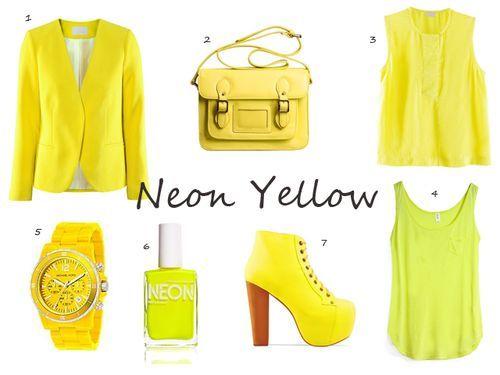2014 NEON FASHON TRENDS | Neon jackets, coats and blazers