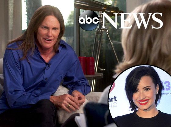 Demi Lovato Dedicates Song to Bruce Jenner During Concert: He Probably Saved So Many Lives