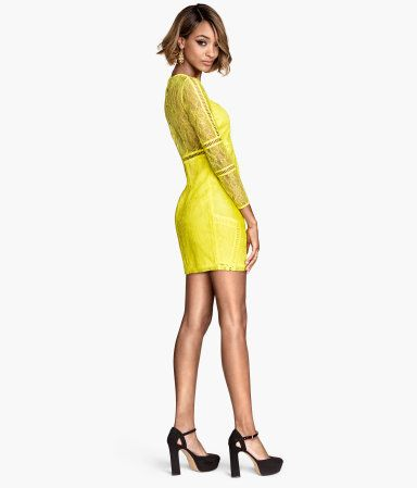 So delicious yellow lacedress | H&M FI