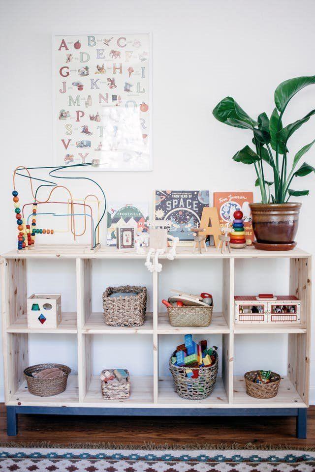 M todo montessori para decorar una habitaci n infantil de for Habitacion infantil estilo nordico