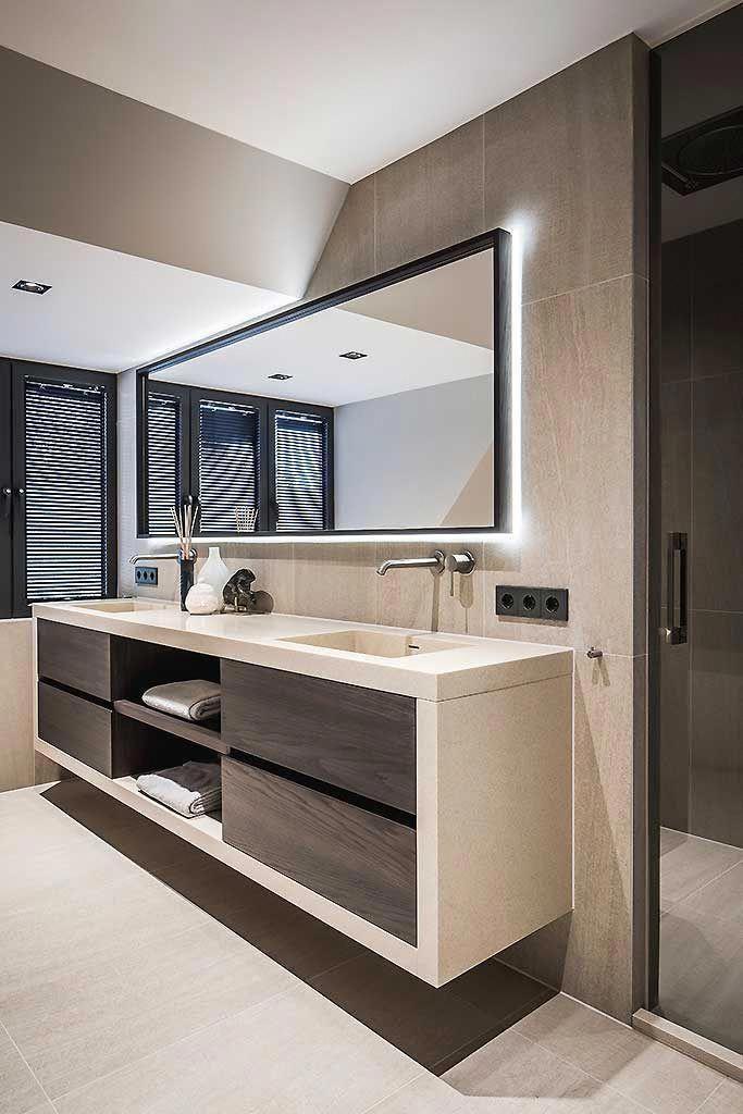 42+ Modern bathroom cabinets ideas model