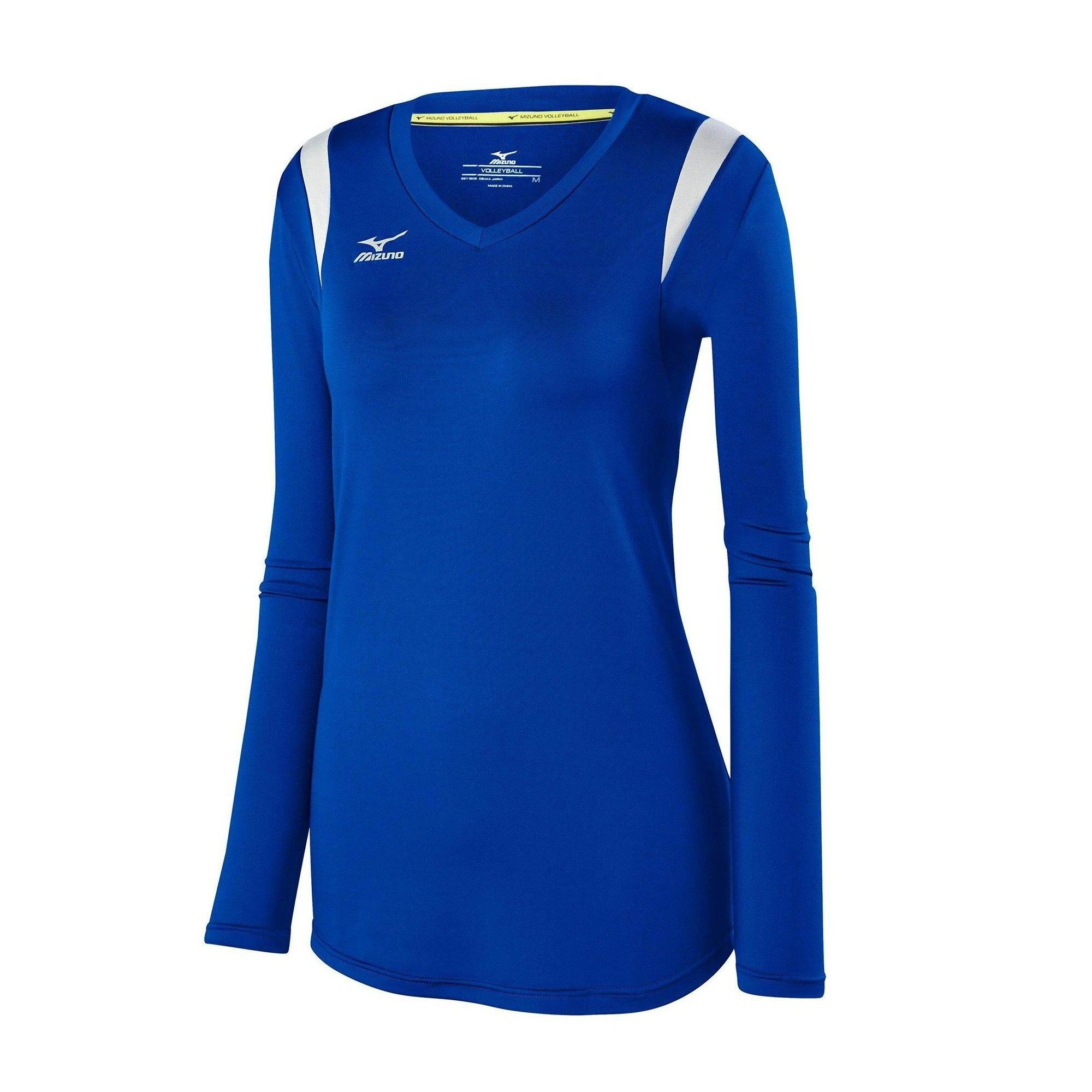 Mizuno Womens Volleyball Apparel Balboa 5 0 Long Sleeve Volleyball Jersey 440645 Size Extra Large Ro Volleyball Outfits Volleyball Jerseys Women Volleyball