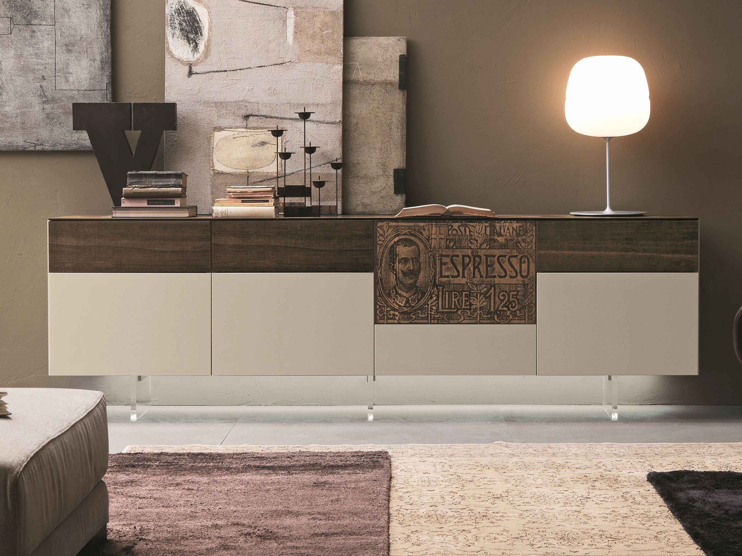 Inclinart Modular Sideboard By Presotto Industrie Mobili Design