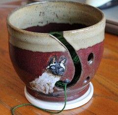 I love this yarn bowl!