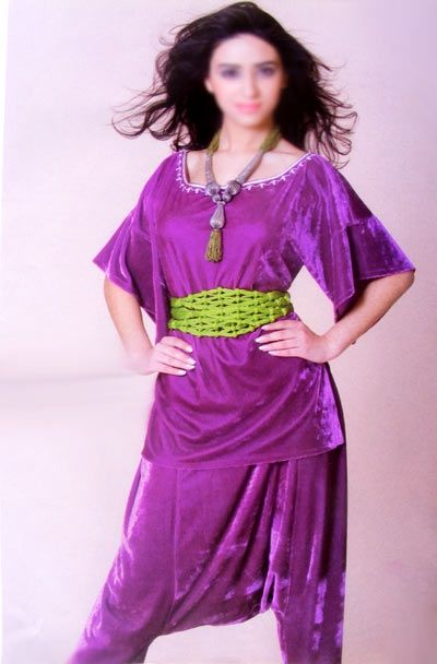 8c7b1fffe7603 Jabador marocain avec pantalon Aladin   mode caftan   Pinterest ...