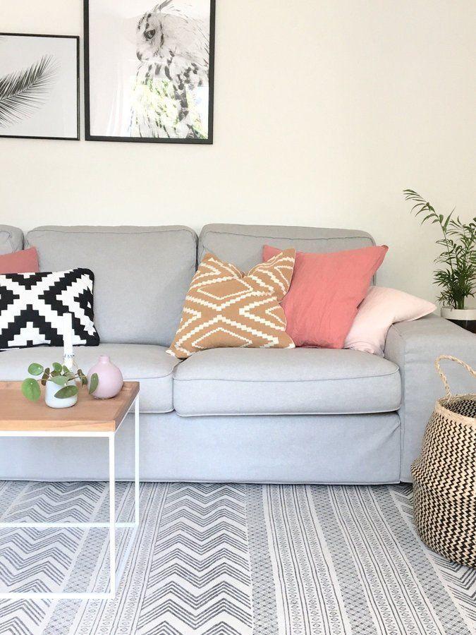 Nochmal neue Frühlingsdeko ☺ SoLebIchde Foto Waterloo - wohnzimmer ideen grau