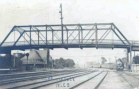 niles, michigan viaduct | Michigan's Internet Railroad History Museum