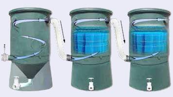 W lim wave 36 filtering system wave 36 for Koi pond vortex