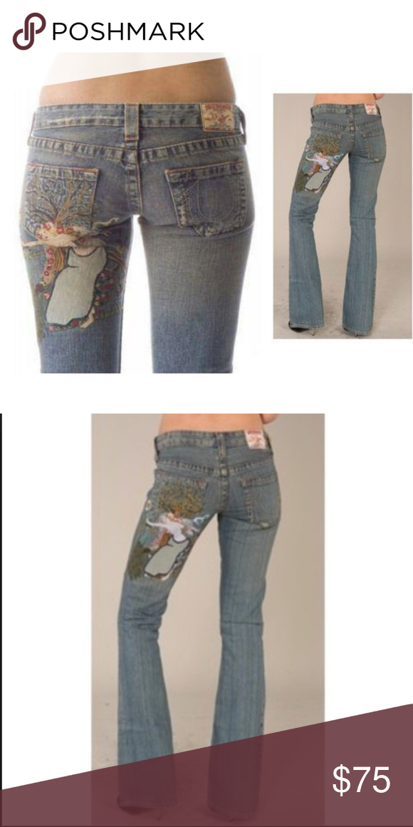 e70be61627 True Religion Lady Godiva Unicorn Bobby Jeans NEW These are from a High End  boutique that