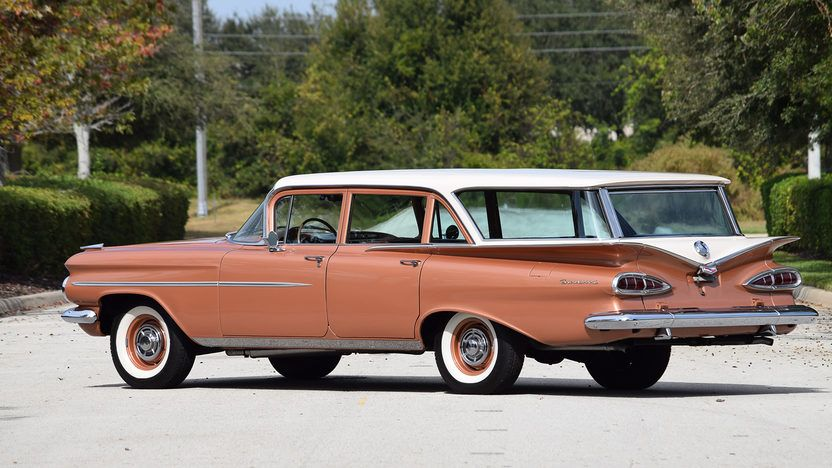 1959 Chevrolet Brookwood Wagon 2 5 Wagons Ho