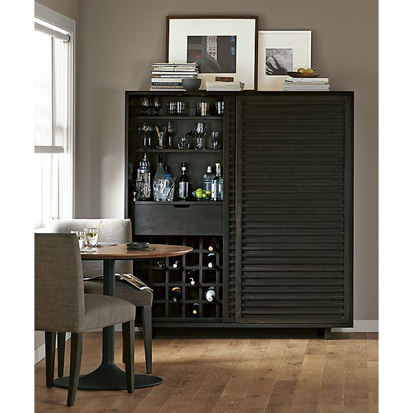 Moro Dining Cabinet In Charcoal  Dining  Room & Board  Ideas Brilliant Charcoal Dining Room Design Ideas
