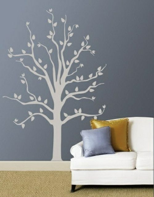 wandmuster wanddekoration natur wandtattoo baum w nde gestalten pinterest wandmuster. Black Bedroom Furniture Sets. Home Design Ideas