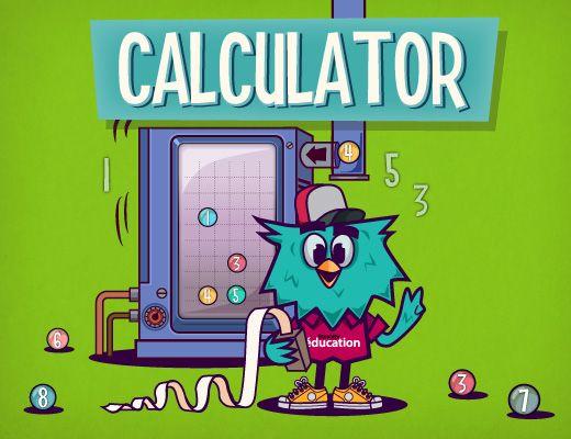 calculator est un jeu interactif en ligne pour s 39 entrainer au calcul mental en s 39 amusant le but. Black Bedroom Furniture Sets. Home Design Ideas