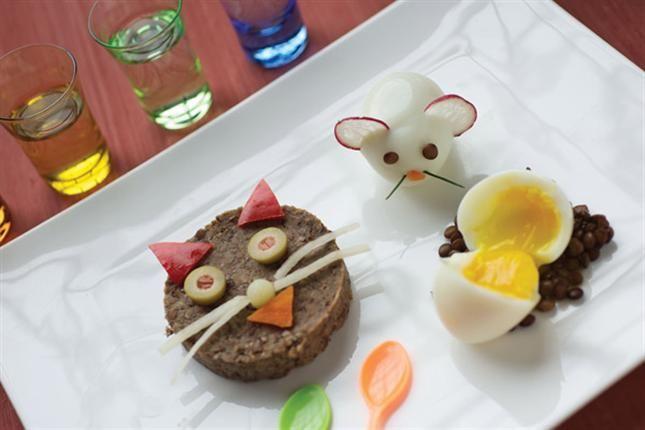 ideas para hacer de la comida un suceso divertido -
