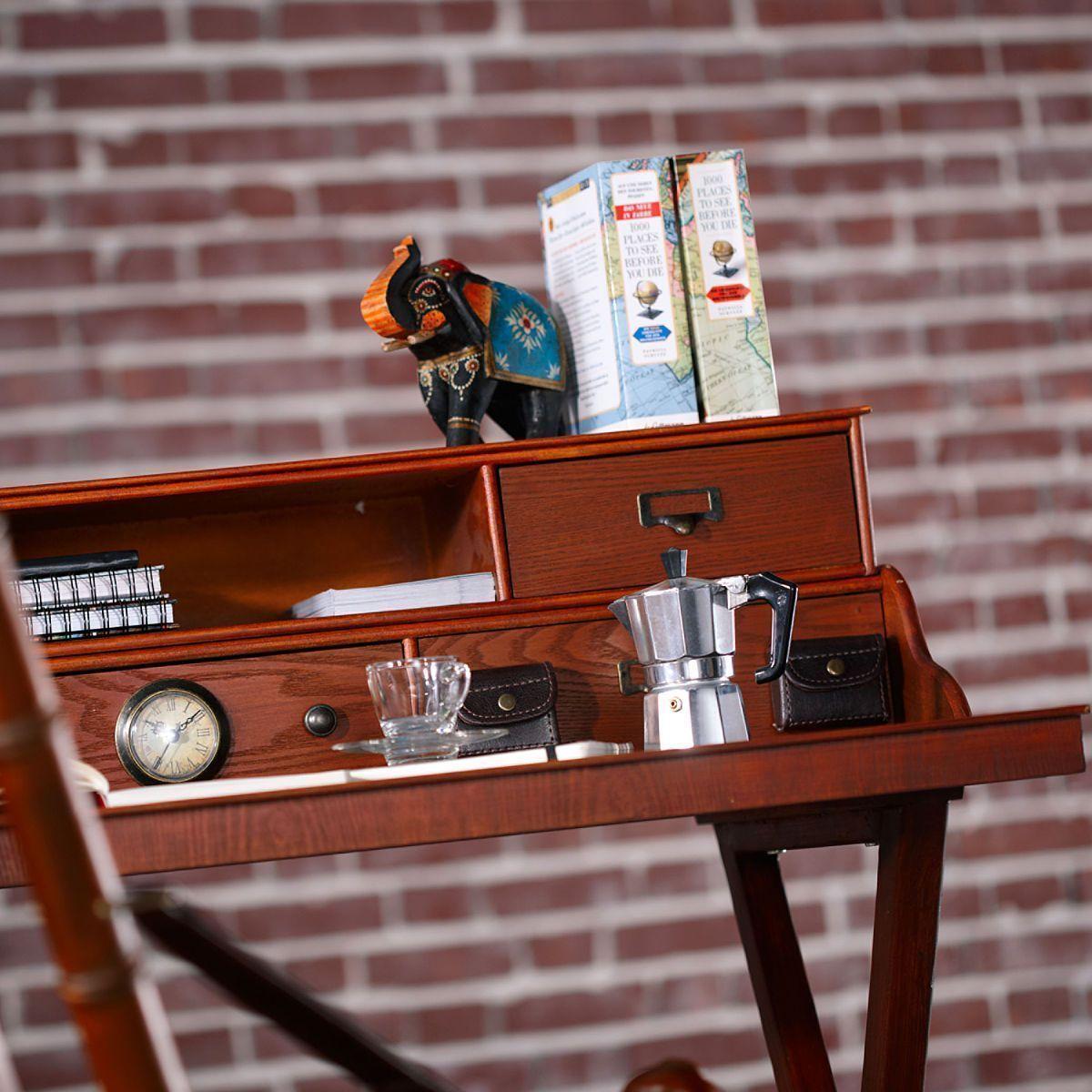 SALON COLONIAL Sekretär Holzmöbel, gefunden bei Butlers | Bureau ...