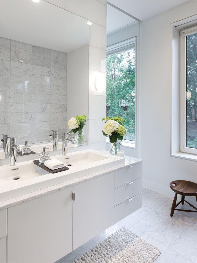 Bathroom Design Idea - Extra Large Sinks Or Trough Sinks | Trough ...