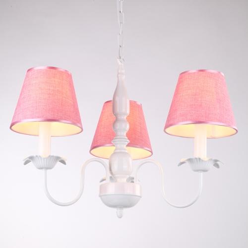 99.45$  Watch now - http://alizkw.worldwells.pw/go.php?t=32659299082 - Children chandelier modern elegant European-style garden men and women child Nordic chandeliers lamp