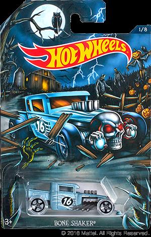 News Hot Wheels Collectors Halloween New Release Bone Shaker Hot Wheels Toys Hot Wheels Garage Hot Wheels