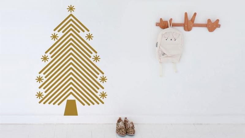 gold-Christmas-tree-decal-Vinyl-Designs