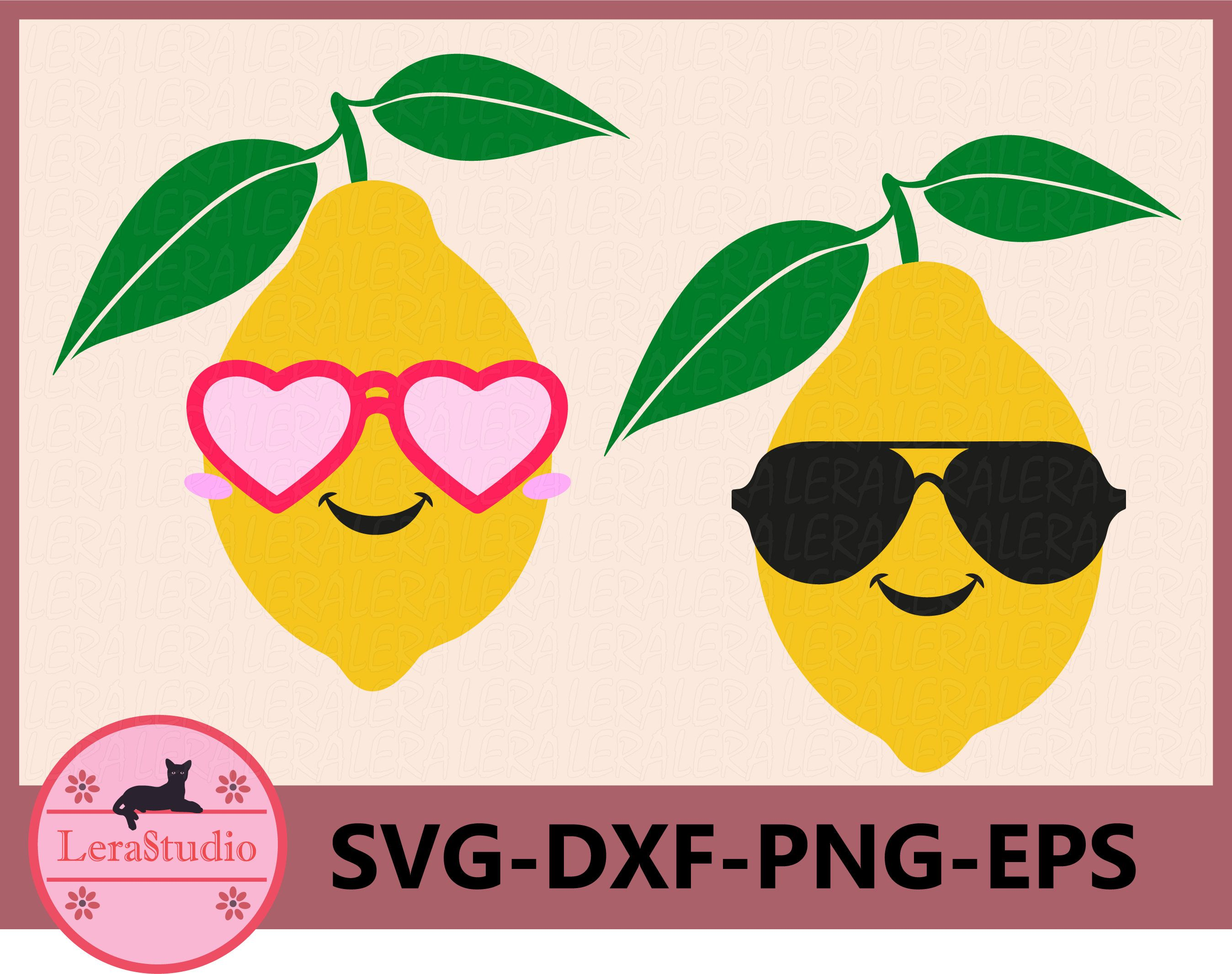 Lemon SVG, Face Svg, Summer Svg, Boy and Girl with