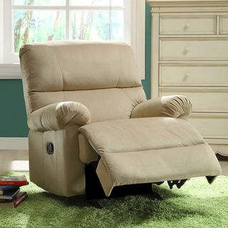 Payton Sand Brown Fabric Nursery Rocker Recliner Chair Ping S On Recliners