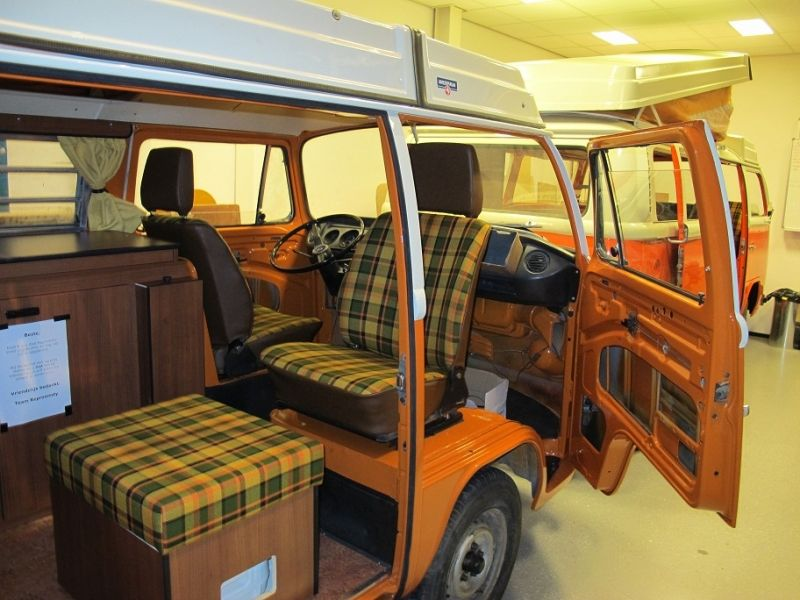 Reproduction westfalia equals an original interior t1 for Interior westfalia