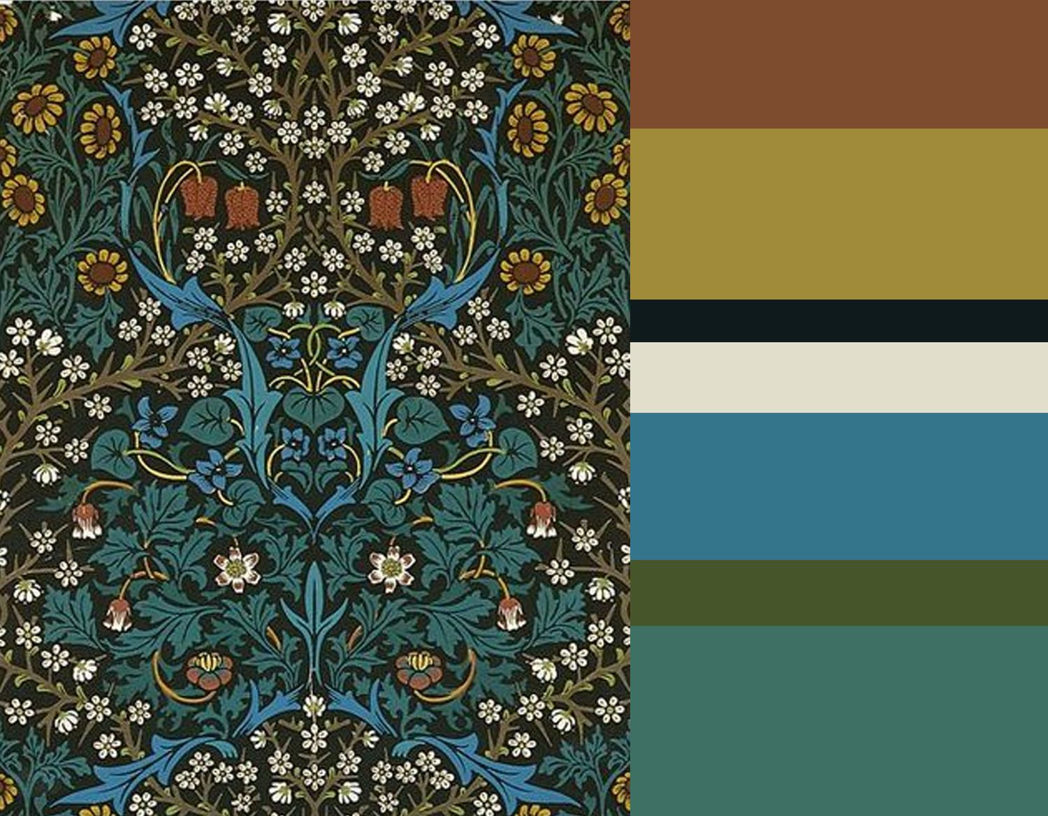 The Revival of William Morris Decorative Arts. William