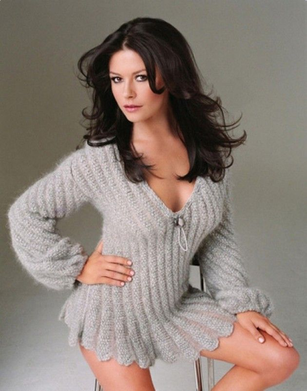 Hot Girls In Sweaters 8 Brosome Hot Catherine Zeta Jones