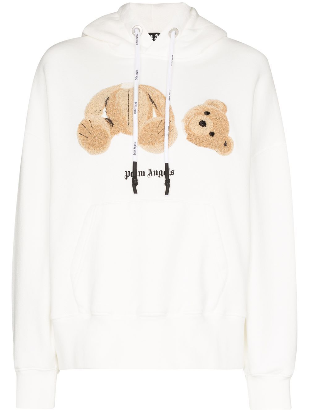 Palm Angels Teddy Bear Hoodie Farfetch Hoodies Bear Hoodie Sweatshirts Hoodie [ 1334 x 1000 Pixel ]