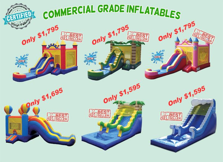 High quality inflatable games slides bouncers usa