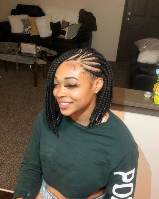 Latest Beautiful Braid Ideas Braided Hairstyles African Braids Hairstyles Bob Braids Hairstyles